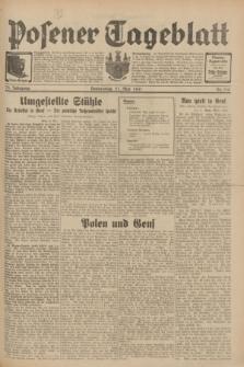 Posener Tageblatt. Jg.70, Nr. 115 (21 Mai 1931) + dod.