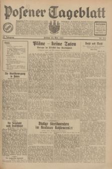 Posener Tageblatt. Jg.70, Nr. 116 (22 Mai 1931) + dod.
