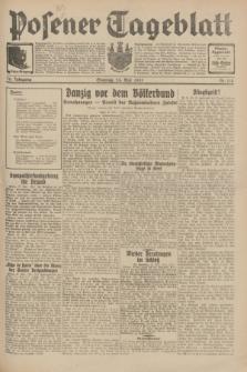 Posener Tageblatt. Jg.70, Nr. 118 (24 Mai 1931) + dod.