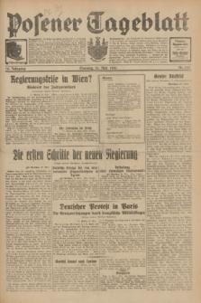Posener Tageblatt. Jg.70, Nr. 123 (31 Mai 1931) + dod.