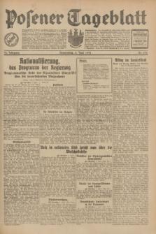 Posener Tageblatt. Jg.70, Nr. 126 (4 Juni 1931) + dod.