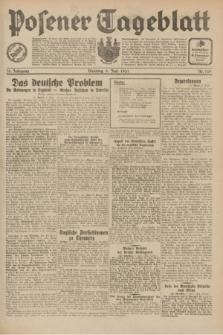 Posener Tageblatt. Jg.70, Nr. 129 (9 Juni 1931) + dod.