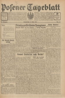 Posener Tageblatt. Jg.70, Nr. 131 (11 Juni 1931) + dod.