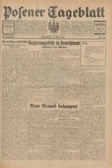 Posener Tageblatt. Jg.70, Nr. 133 (13 Juni 1931) + dod.