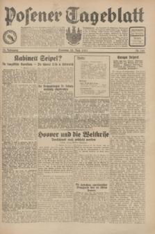 Posener Tageblatt. Jg.70, Nr. 140 (21 Juni 1931) + dod.