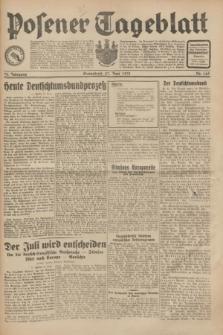 Posener Tageblatt. Jg.70, Nr. 145 (27 Juni 1931) + dod.
