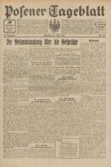 Posener Tageblatt. Jg.70, Nr. 164 (21 Juli 1931) + dod.