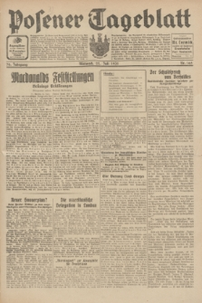 Posener Tageblatt. Jg.70, Nr. 165 (22 Juli 1931) + dod.