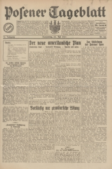 Posener Tageblatt. Jg.70, Nr. 166 (23 Juli 1931) + dod.
