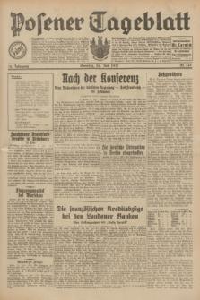 Posener Tageblatt. Jg.70, Nr. 169 (26 Juli 1931) + dod.