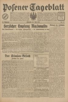 Posener Tageblatt. Jg.70, Nr. 171 (29 Juli 1931) + dod.