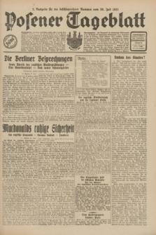 Posener Tageblatt. Jg.70, Nr. 172 (30 Juli 1931) + dod. [po konfiskacie]