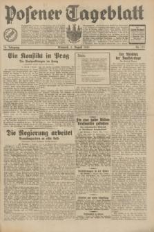 Posener Tageblatt. Jg.70, Nr. 177 (5 August 1931) + dod.