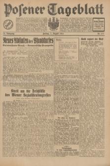 Posener Tageblatt. Jg.70, Nr. 179 (7 August 1931) + dod.
