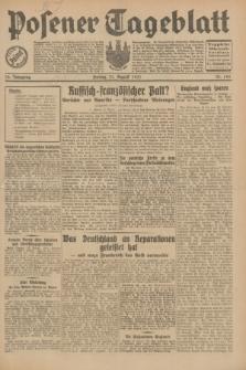 Posener Tageblatt. Jg.70, Nr. 190 (21 August 1931) + dod.