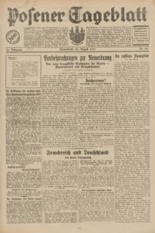 Posener Tageblatt. Jg.70, Nr. 191 (22 August 1931) + dod.
