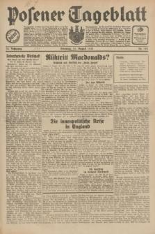 Posener Tageblatt. Jg.70, Nr. 193 (25 August 1931) + dod.