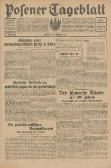 Posener Tageblatt. Jg.70, Nr. 196 (28 August 1931) + dod.