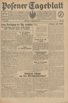Posener Tageblatt. Jg.70, Nr. 200 (2 September 1931) + dod.
