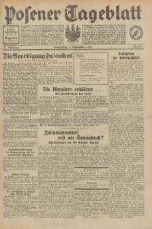 Posener Tageblatt. Jg.70, Nr. 201 (3 September 1931) + dod.