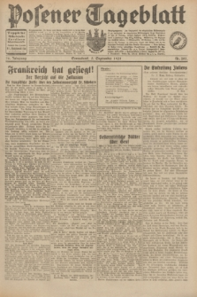 Posener Tageblatt. Jg.70, Nr. 203 (5 September 1931) + dod.