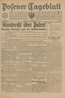 Posener Tageblatt. Jg.70, Nr. 204 (6 September 1931) + dod.