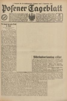 Posener Tageblatt. Jg.70, Nr. 205 (8 September 1931) + dod. [po konfiskacie]