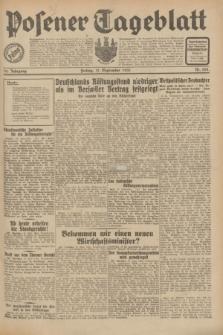 Posener Tageblatt. Jg.70, Nr. 208 (11 September 1931) + dod.