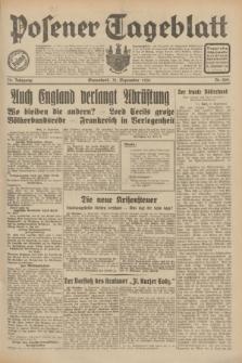 Posener Tageblatt. Jg.70, Nr. 209 (12 September 1931) + dod.