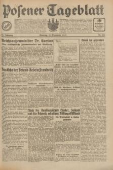 Posener Tageblatt. Jg.70, Nr. 210 (13 September 1931) + dod.
