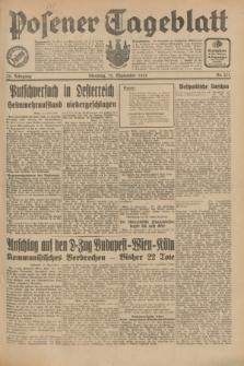 Posener Tageblatt. Jg.70, Nr. 211 (15 September 1931) + dod.