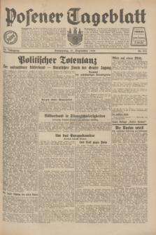 Posener Tageblatt. Jg.70, Nr. 213 (17 September 1931) + dod.