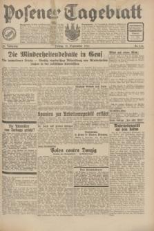 Posener Tageblatt. Jg.70, Nr. 214 (18 September 1931) + dod.