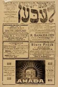 Radomer-Kielcer Leben. 1929, nr4