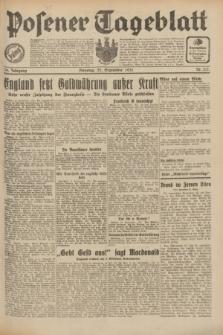 Posener Tageblatt. Jg.70, Nr. 217 (22 September 1931) + dod.