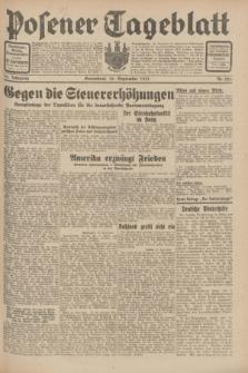 Posener Tageblatt. Jg.70, Nr. 221 (26 September 1931) + dod.