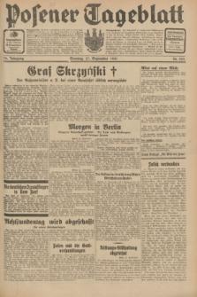 Posener Tageblatt. Jg.70, Nr. 222 (27 September 1931) + dod.