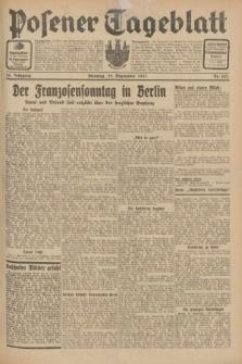 Posener Tageblatt. Jg.70, Nr. 223 (29 September 1931) + dod.