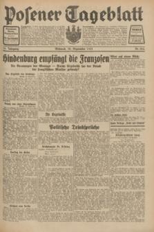Posener Tageblatt. Jg.70, Nr. 224 (30 September 1931) + dod.