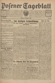 Posener Tageblatt. Jg.70, Nr. 226 (2 Oktober 1931) + dod.