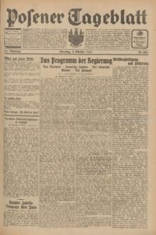 Posener Tageblatt. Jg.70, Nr. 228 (4 Oktober 1931) + dod.