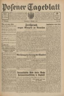 Posener Tageblatt. Jg.70, Nr. 229 (6 Oktober 1931) + dod.