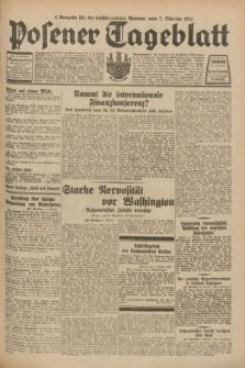 Posener Tageblatt. Jg.70, Nr. 230 (7 Oktober 1931) + dod. [po konfiskacie]