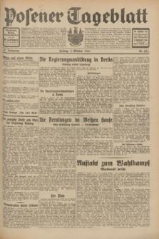 Posener Tageblatt. Jg.70, Nr. 232 (9 Oktober 1931) + dod.