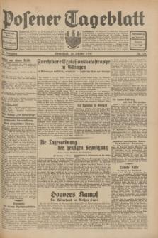 Posener Tageblatt. Jg.70, Nr. 233 (10 Oktober 1931) + dod.