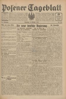 Posener Tageblatt. Jg.70, Nr. 234 (11 Oktober 1931) + dod.