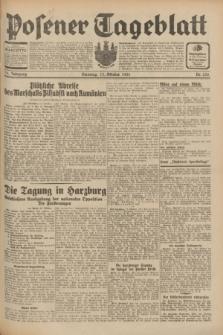 Posener Tageblatt. Jg.70, Nr. 235 (13 Oktober 1931) + dod.