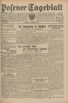 Posener Tageblatt. Jg.70, Nr. 236 (14 Oktober 1931) + dod.