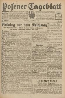Posener Tageblatt. Jg.70, Nr. 237 (15 Oktober 1931) + dod.
