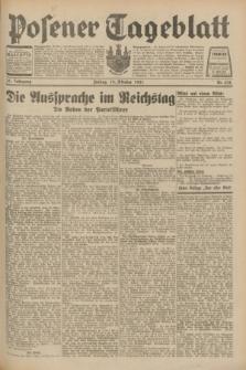 Posener Tageblatt. Jg.70, Nr. 238 (16 Oktober 1931) + dod.